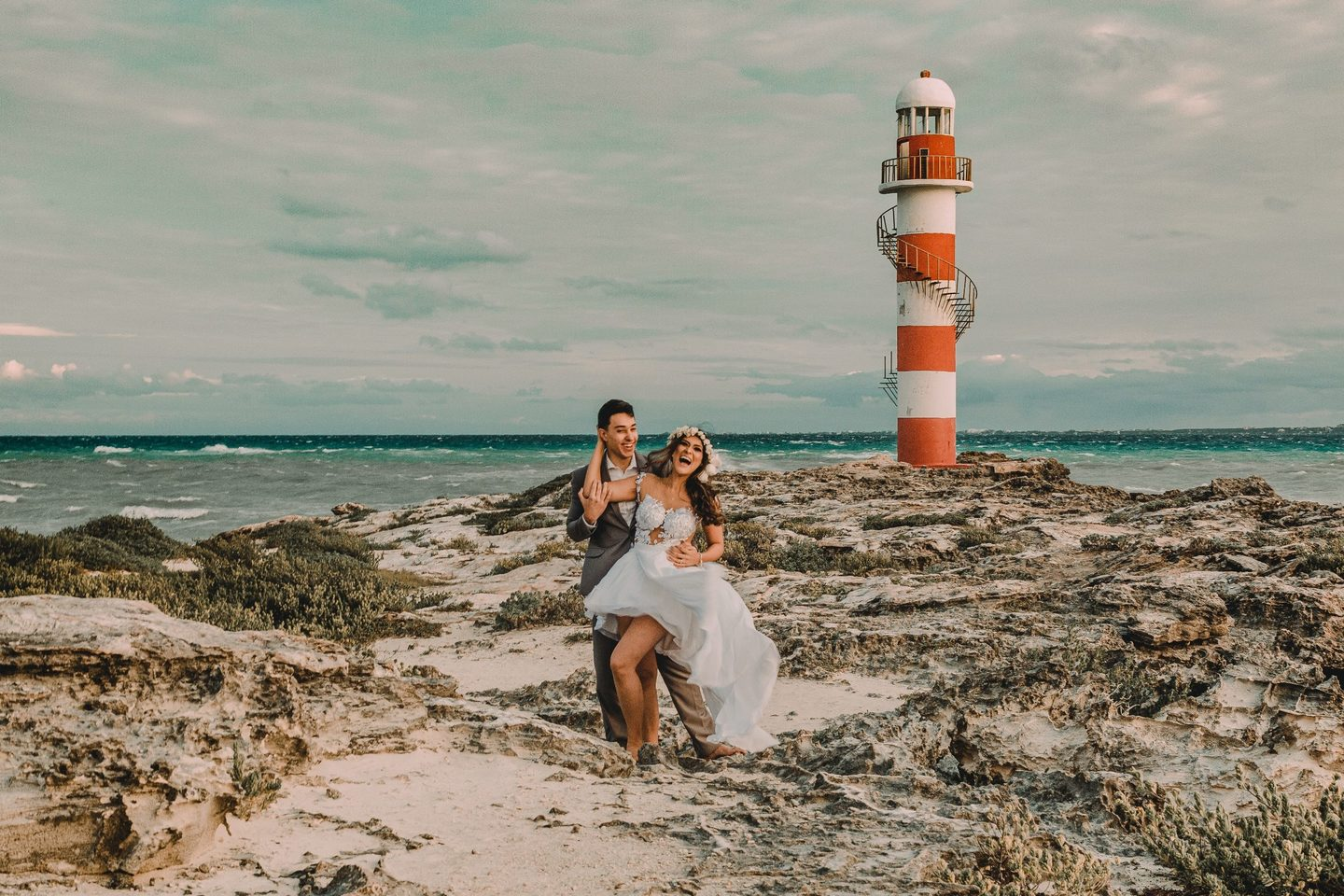 Carol e André - Destination Wedding - Ensaio - México - Cancun - Riviera Maya